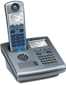 SD7581 5.8GHz Digital Phone w/ Answering Machine & Base Keypad { C51 System }