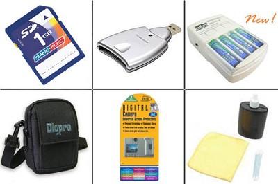 Bargain Accessory kit for Panasonic DMC-LS2 Digital Camera