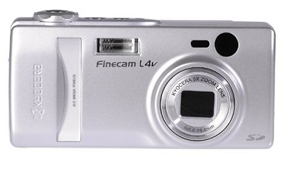 Finecam L4v Digital Camera **3PC LEFT!