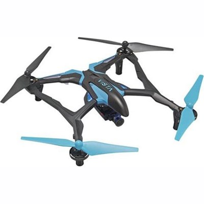 Vista FPV UAV Quadcopter RTF Drone for Smartphones Live Stream HD Camera (Blue)