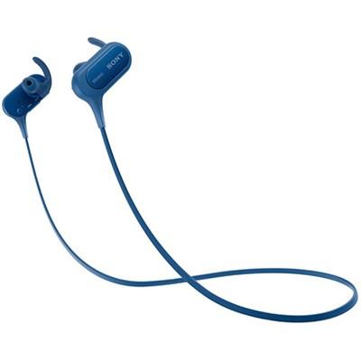 MDRXB50BS/L Wireless, In-Ear, Sports Headphone, Blue (OPEN BOX)