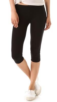 Seamless Yoga Capri Pants 6-Pack in Midnight Black ( Size S/M )