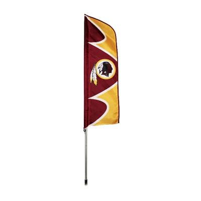 Redskins Swooper Flag And Pole