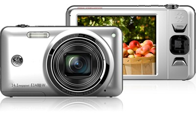 E1480W 14MP Power Series Digital Camera (Silver)