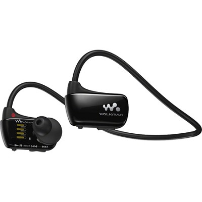 NWZW273S 4 GB Wearable Sports MP3 Player - Black