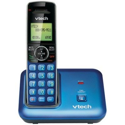 Digital Cordless Phone Dect 6.0 - Blue