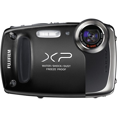Finepix XP50 14MP CMOS Digital Camera (Black)