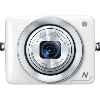 PowerShot N White 12.1MP Digital Camera with WiFi - OPEN BOX