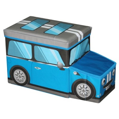 Mini Car Ottoman Blue