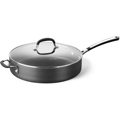 Simply Nonstick 5 Qt. Saute Pan with Cover