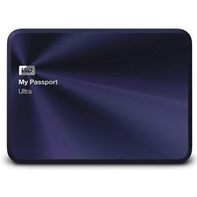3TB My Passport Ultra Metal Edition Blue USB 3.0 - WDBEZW0030BBA-NESN - OPEN BOX