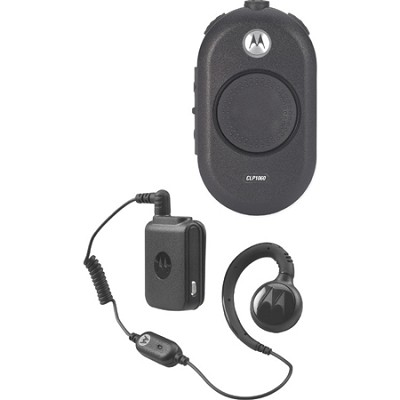CLP1060 On-Site 6 Channel Two-Way Business Radio - Black