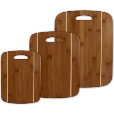 Stripe Cutting Board Set