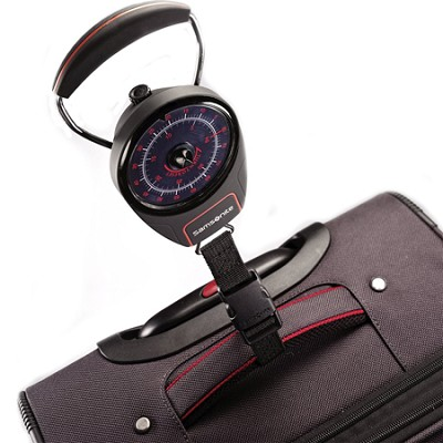 Portable Luggage Scale  (Red/Black)