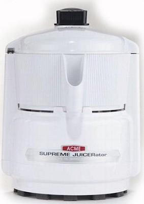 White Supreme Juicerator Juice Extractor