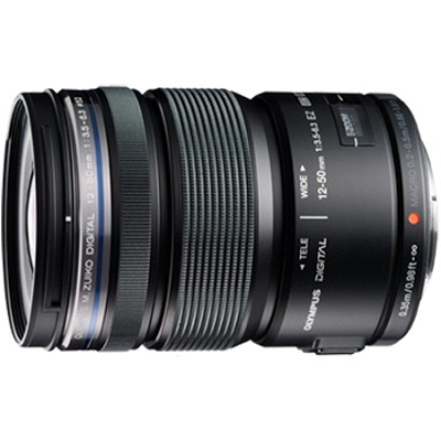M.ZUIKO DIGITAL ED 12-50mm F3.5-6.3 EZ Lens (Black) - V314040BU000
