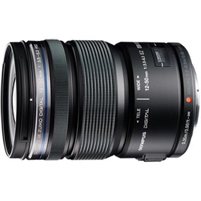 M.ZUIKO DIGITAL ED 12-50mm F3.5-6.3 EZ Lens (Black) - V314040BU000