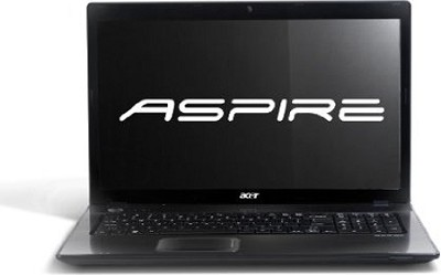 Aspire AS7551-2531 Notebook  17.3 inch  ( Black )