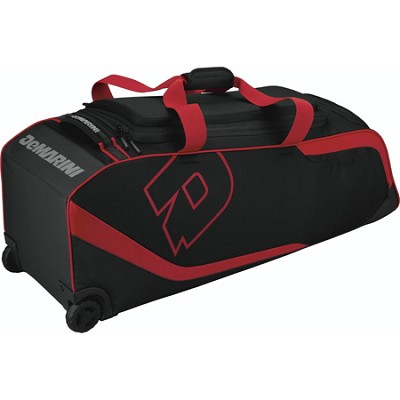 ID2P Wheeled Bag - Black/Scarlet