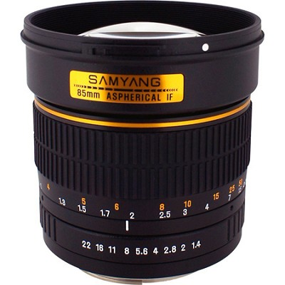 85mm F1.4 Aspherical Lens for Canon