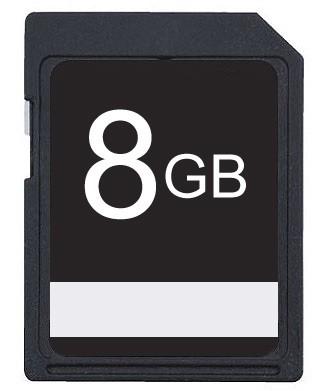 8GB SDHC High Speed Memory Card