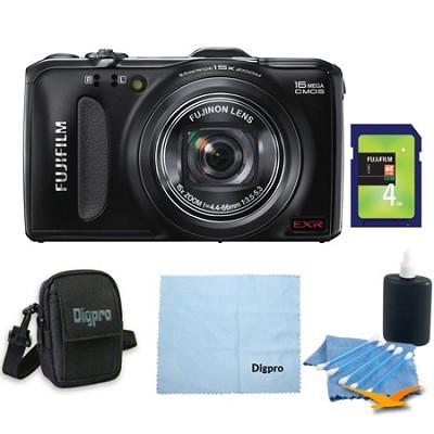 FinePix F600EXR 16 MP Digital Camera 4GB Bundle