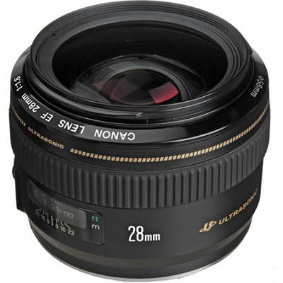 EF 28mm f/1.8 USM Wide Angle Lens for Canon SLR Cameras