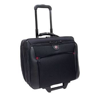 Swissgear Potomac Rolling Case - Fits up to 17` Laptop (Black)