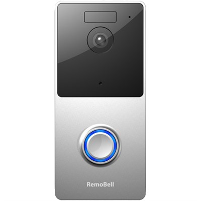 WiFi Video Doorbell (Battery Powered, Night Vision, 2-Way Audio) RMB1M
