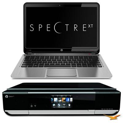 ENVY 13.3` 13-2050nr Spectre XT Ultrabook & Envy 114 e-All-In-One Printer Bundle