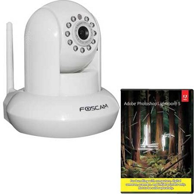 FI9821W v2 1.0 Megapixel (1280x720p) H.264 Wireless IP Camera - White