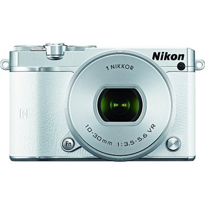 1 J5 Digital Camera w/ NIKKOR 10-30mm f/3.5-5.6 PD Zoom Lens - White