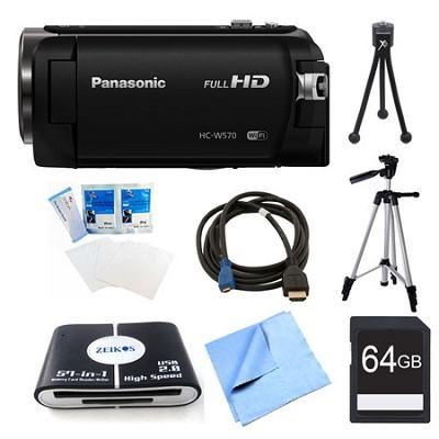 HC-W570K HD Camcorder 64GB Bundle