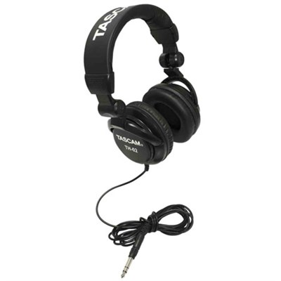 Closed-Back Professional Headphones (Black) - TH-02-B
