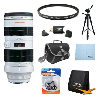 EF 70-200mm F/2.8L USM Lens Exclusive Pro Kit