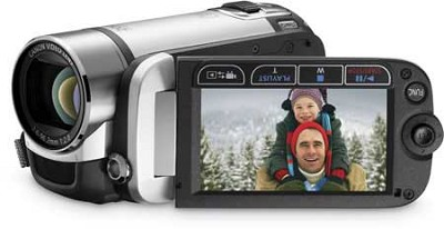 FS21 Dual Flash Memory Camcorder w/16GB Internal Memory & 37x Optical Zoom