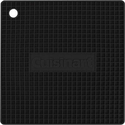 Square Silicone Trivet/Pot Holder - Black
