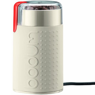 Bistro Electric Blade Coffee Grinder - White