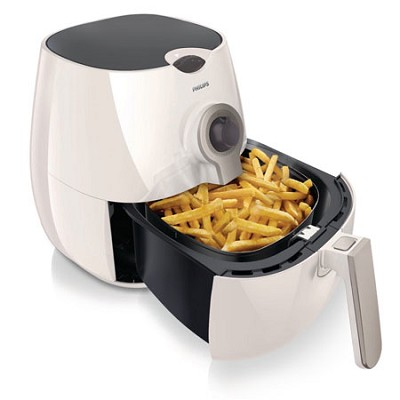 AirFryer with Rapid Air Technology, White (HD9220/56) - OPEN BOX