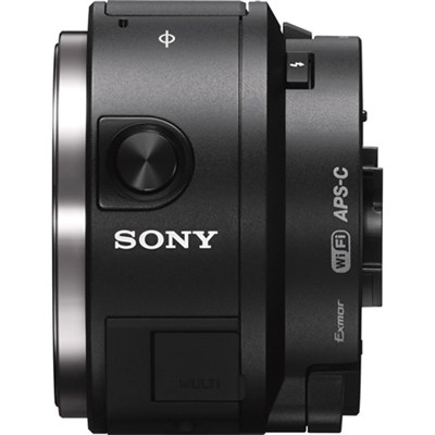 ILCE-QX1/B APS-C Sensor Interchangeable Lens Style Cam/Built-in Flash - OPEN BOX