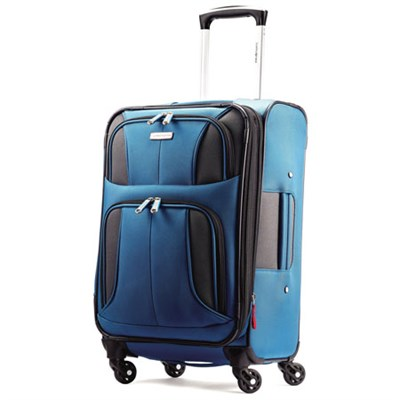 Aspire XLite 20-Inch Expandable Carry on Spinner Luggage (Blue Dream)