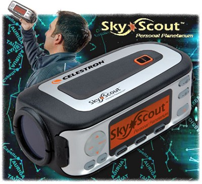 SkyScout Hand-held GPS-Based Personal Planetarium