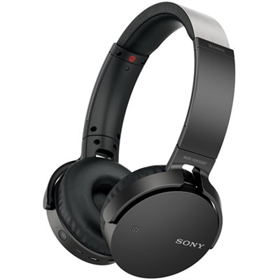 MDR-XB650BT XB Series Wireless Bluetooth Headphone w/ Extra Bass Blk - OPEN BOX