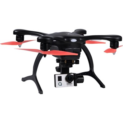 GhostDrone 2.0 Aerial Drone - Black/Orange 1 Year Crash Coverage - OPEN BOX