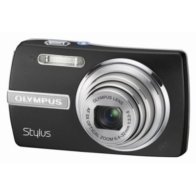 Stylus 840 8.1MP Digital Camera (Black) - REFURBISHED