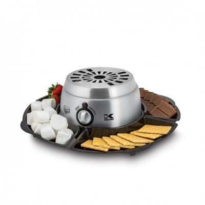 CYM 42873 SS 2-in-1 S'mores Maker, Stainless Steel