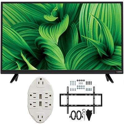 D-Series 32` Full Array LED TV 2017 Model D32hnx-E1 with Wall Mount Bundle