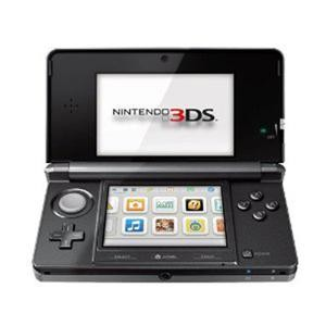 3DS Portable Gaming Console Cosmo Black CTRSKAAR