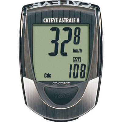 Astrale 8 Bicycling Computer with Wired Speed/Cadence (1600600N2)