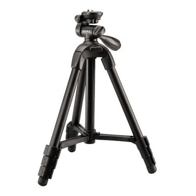 VCT-R100 Lightweight Compact Tripod with 3-Way Pan/Tilt Head